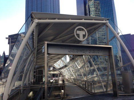 Gateway Station in downtown PIttsburgh, just minutes from Point State Park