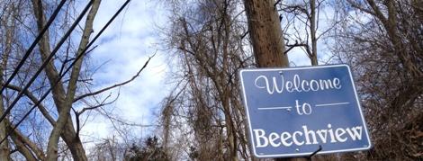 Welcome to Beechview (leaving Banksville Road)