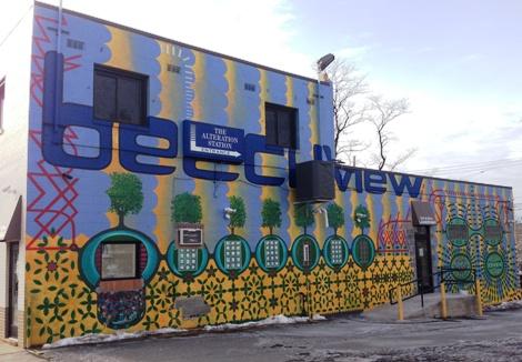 We're 5 for 6 in Neighborhood murals.  Dang you, Bon Air!